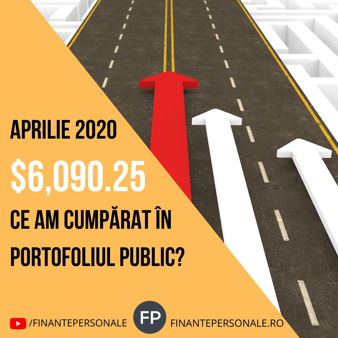 Investitii Aprilie 2020